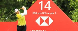 Five tied for Singapore lead as Michelle Wie withdraws