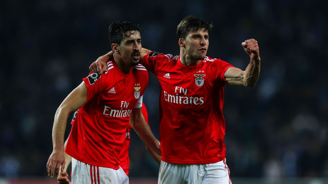 Benfica continue revival with 2-1 Classico win at Porto