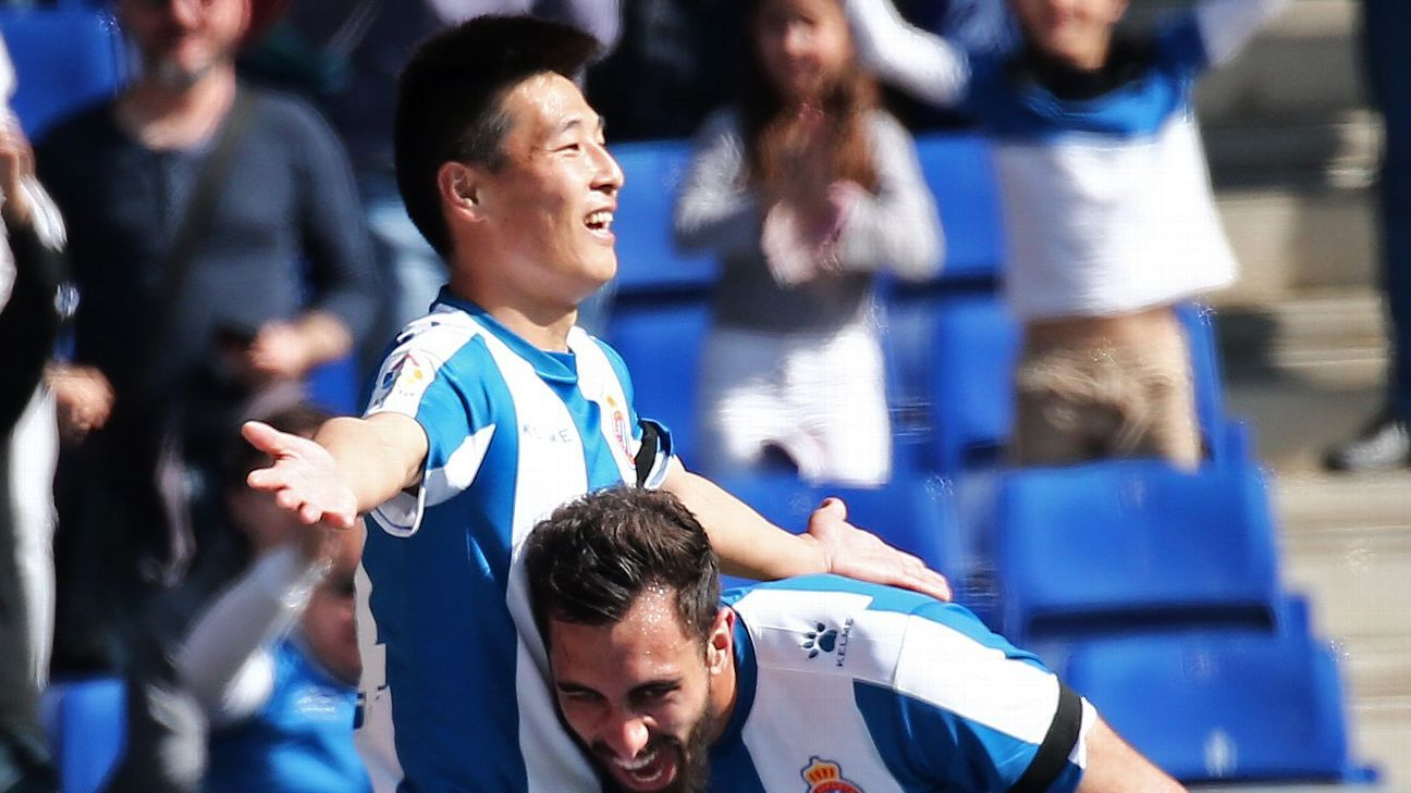 Wu Lei's first Espanyol goal draws an estimated 25 million fans in China
