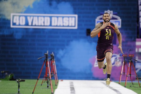 Combine stays in Indy, drills to be in prime time