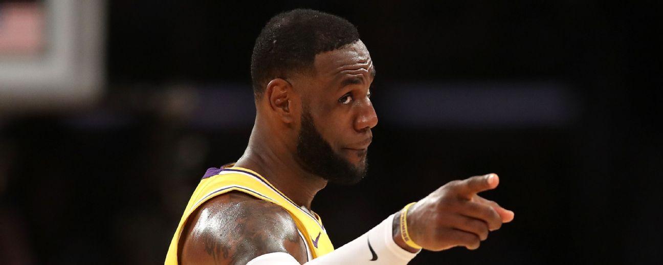 LeBron James: No engañaré al juego ni a mí mismo