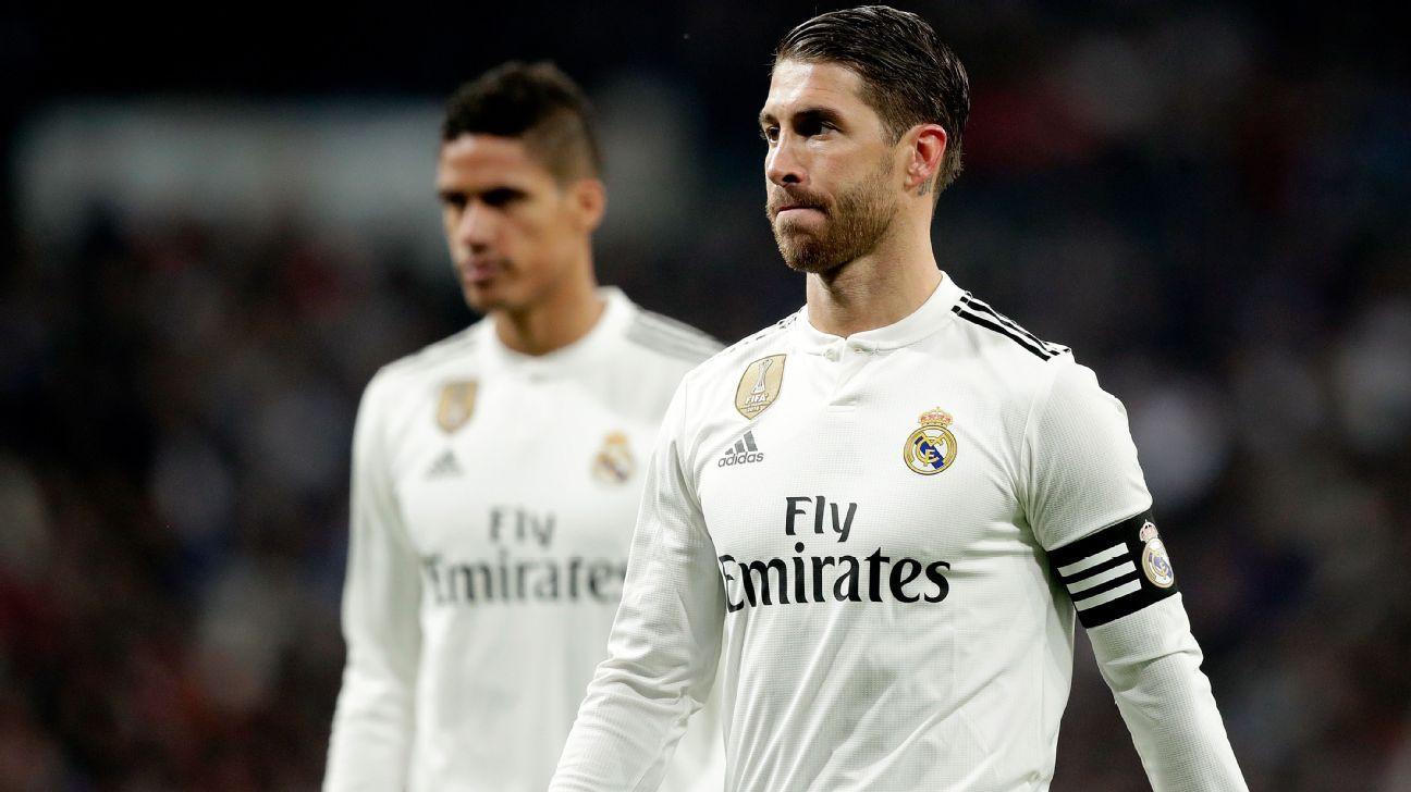 Real Madrid em choque: em reunião com presidente, capitão Sérgio Ramos mostrou desejo de deixar o clube agora
