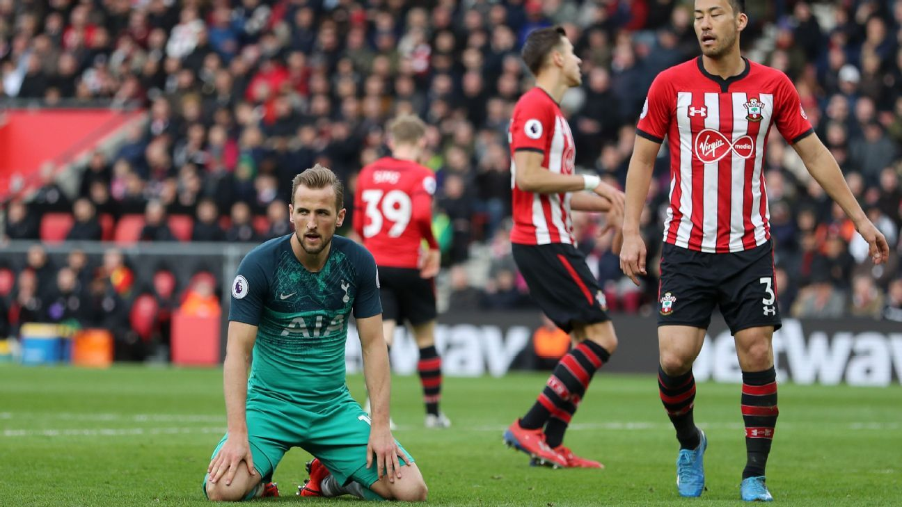 Tottenham's defeat at Southampton a reality check about their limitations