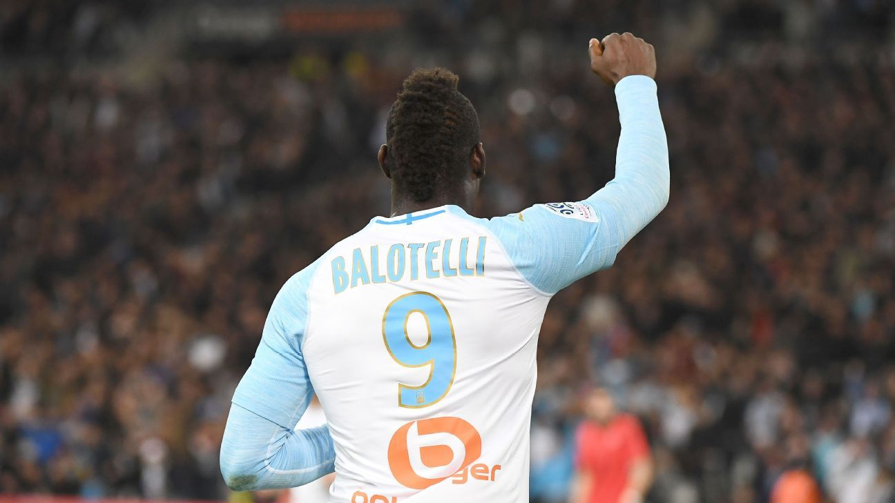Marseille's Balotelli nets winner in victory over former team Nice