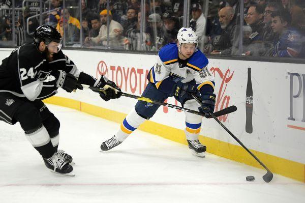 Blues get Tarasenko back after injury layoff