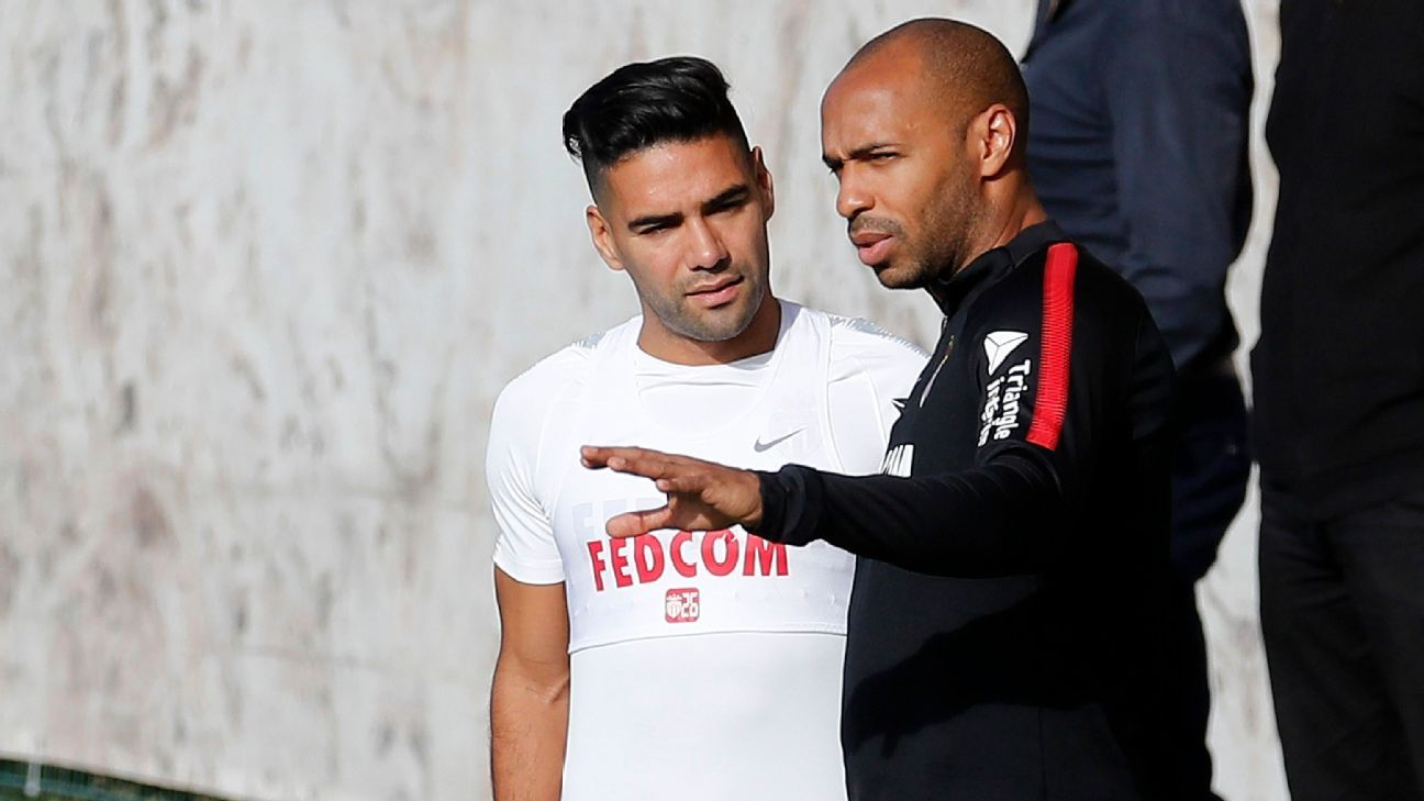 Monaco's Falcao: Thierry Henry has everything to be great coach