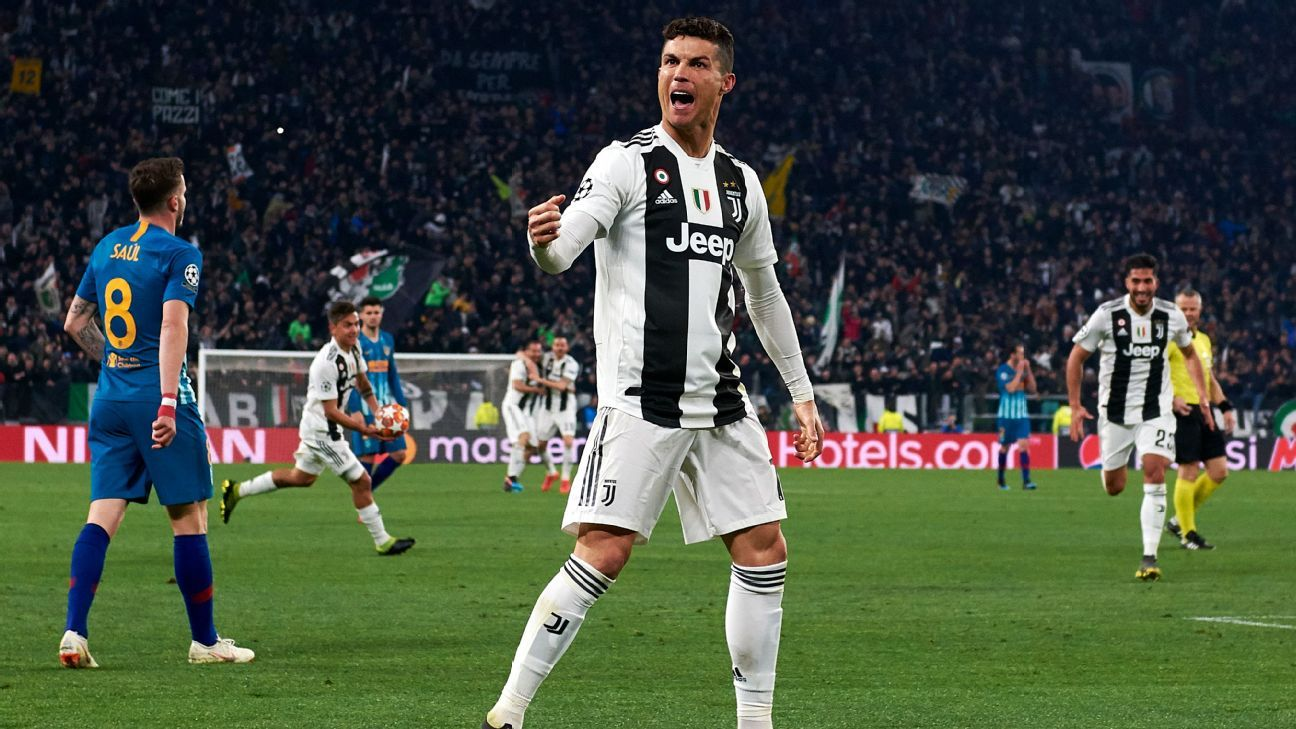 76c259d72 Champions League belongs to Cristiano Ronaldo as Juventus come back to beat  Atletico