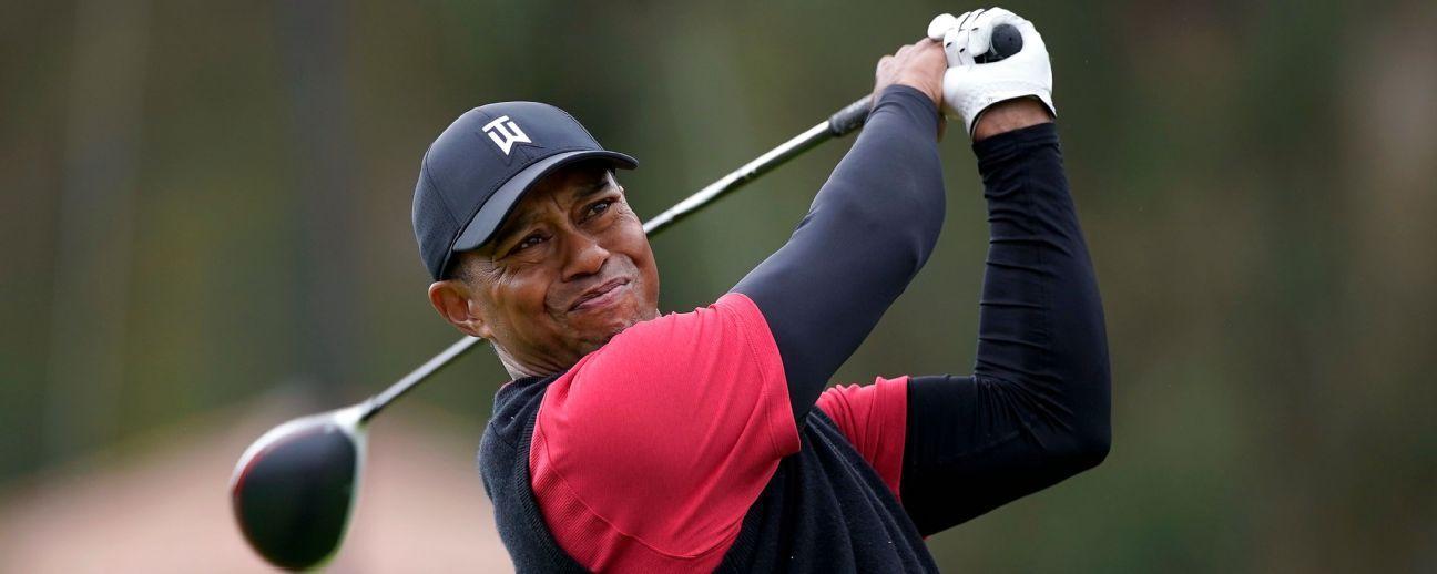 Alemán Thomas Bach, presidente del COI, anima a Tiger Woods a jugar en Tokio 2020