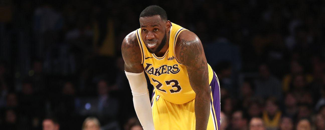 LeBron James no jugará por lesión contra Bucks