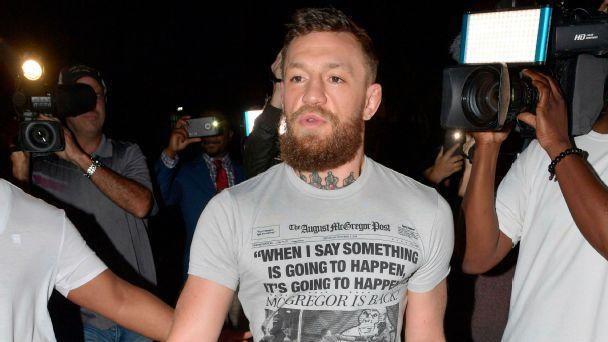 Policía irlandesa investiga a Conor McGregor por agresión sexual