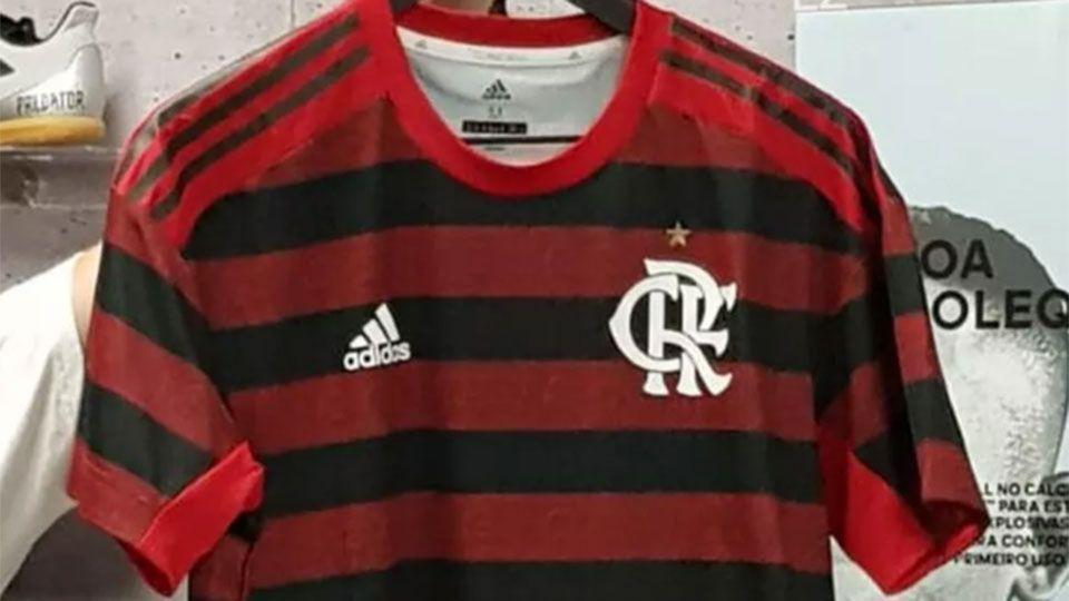 48237aa85 Flamengo  imagem do novo primeiro uniforme vaza na internet