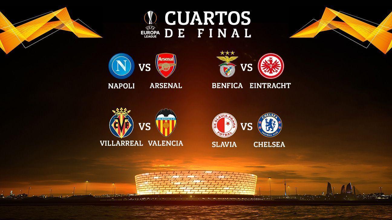 Arsenal vs. Napoli, cruce atractivo en la Europa League; Chelsea corrió con suerte
