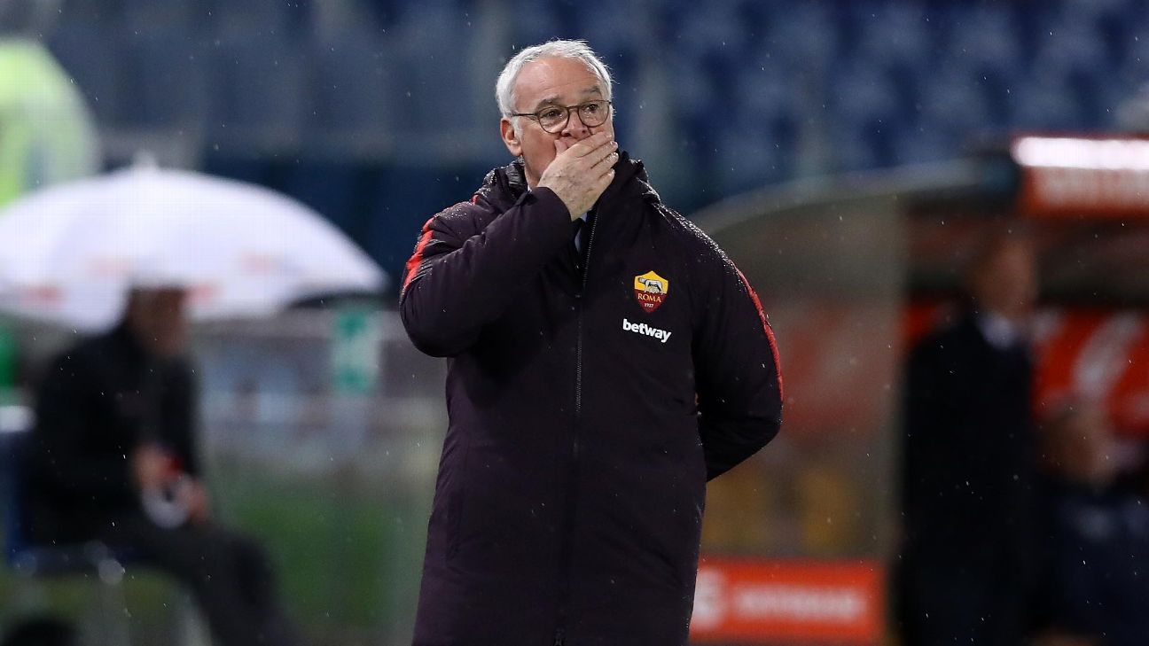 Ranieri's Roma suffer defeat at SPAL as top-four hopes hit