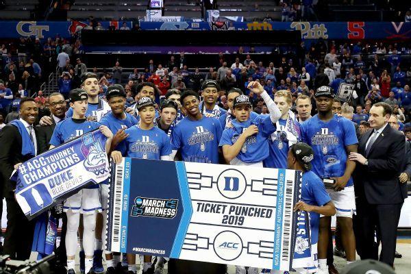 Duke heaviest favorite since 2014-15 Kentucky