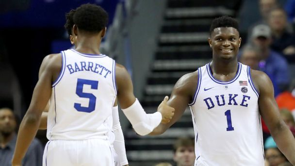 NCAA tournament 2019: Duke is top Tournament Challenge title pick