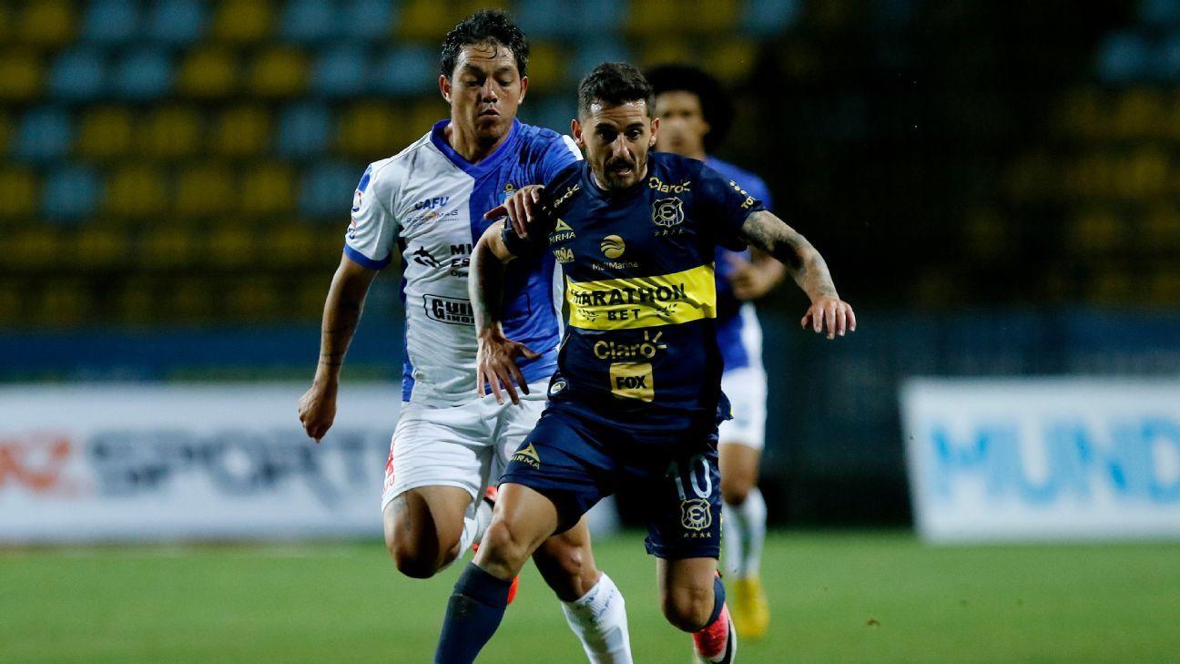 Everton venció con lo justo a Antofagasta y sale de la parte baja