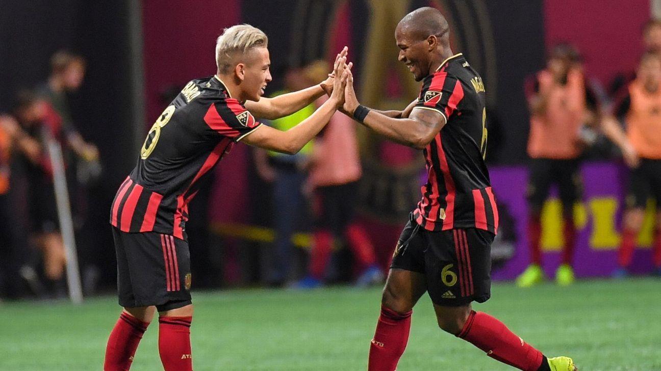 Ezequiel Barco's equalizer earns Atlanta United draw with Philadelphia Union