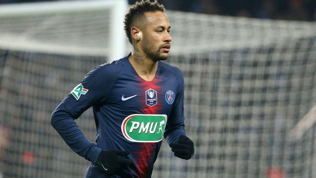 Neymar se alista para reaparecer con PSG en abril