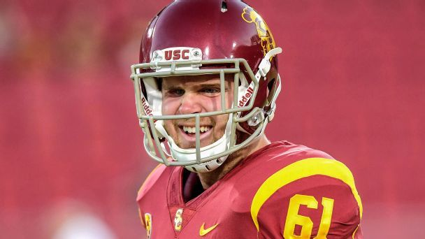 How Jake Olson is using USC's pro day to fight cancer