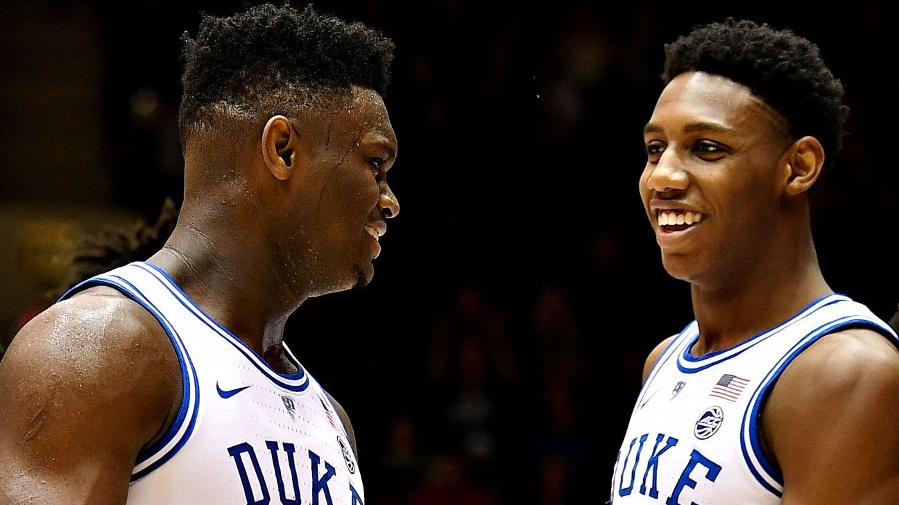 NBA mock draft: Teams for Zion, Morant and top tourney prospects