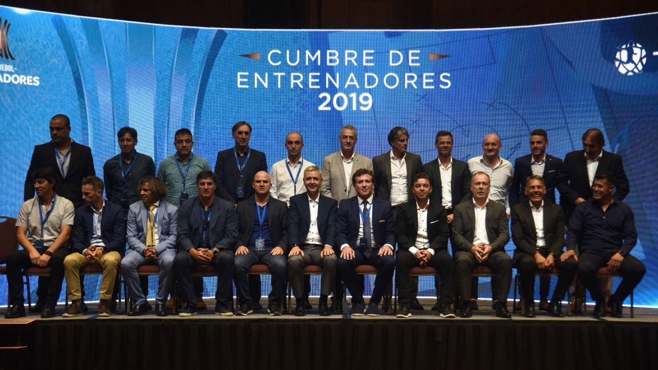 Libertadores: Jornal lista sete pedidos de técnicos para a Conmebol