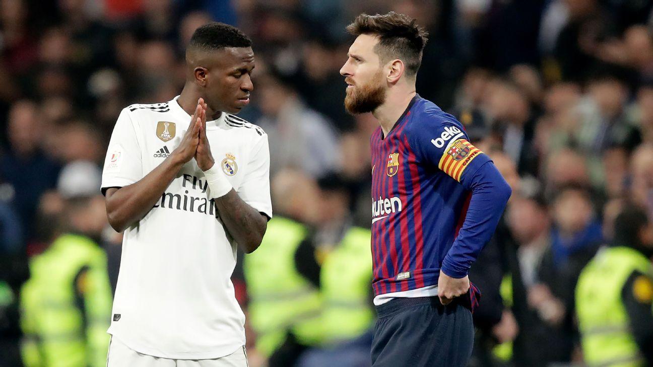 Real Madrid e Barcelona fora da TV nos domingos à tarde? Espanha quer veto para proteger times pequenos