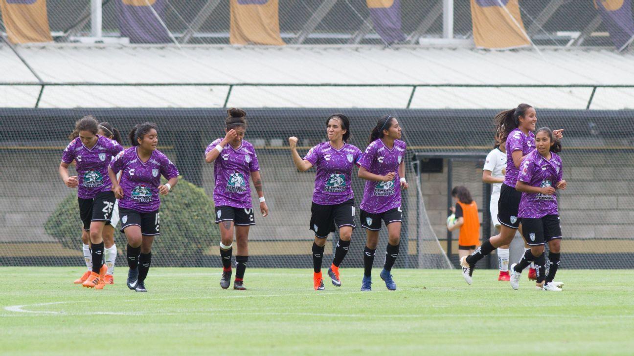 Pachuca, primer clasificado a liguilla de Liga MX Femenil