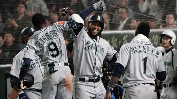 Wake up! MLB season begins with our Mariners-A's running diary