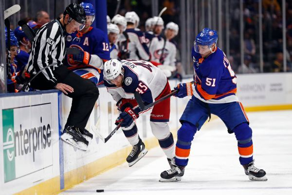 Isles' Filppula out 4 weeks, Eberle day-to-day