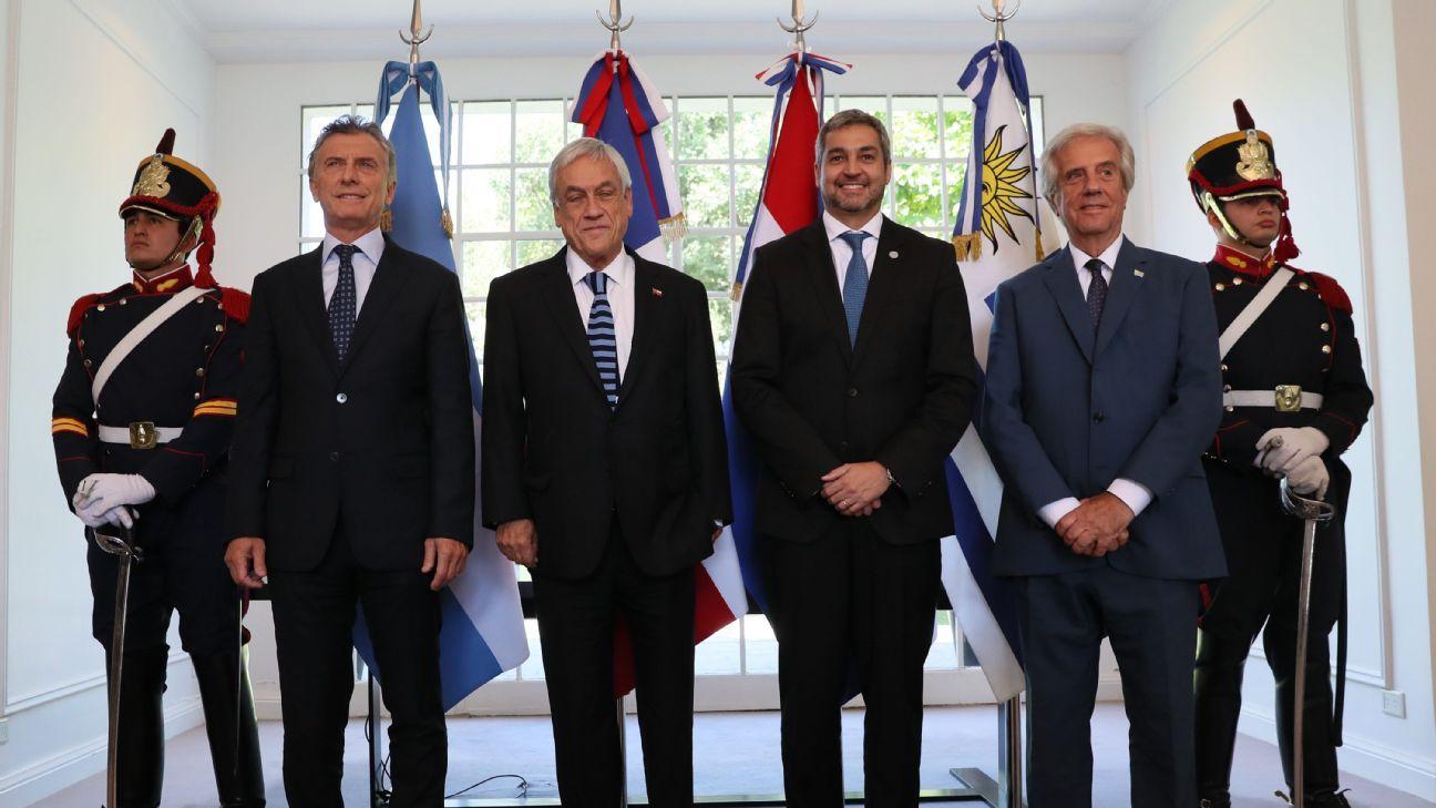 Cónclave de presidentes en Argentina por el Mundial 2030