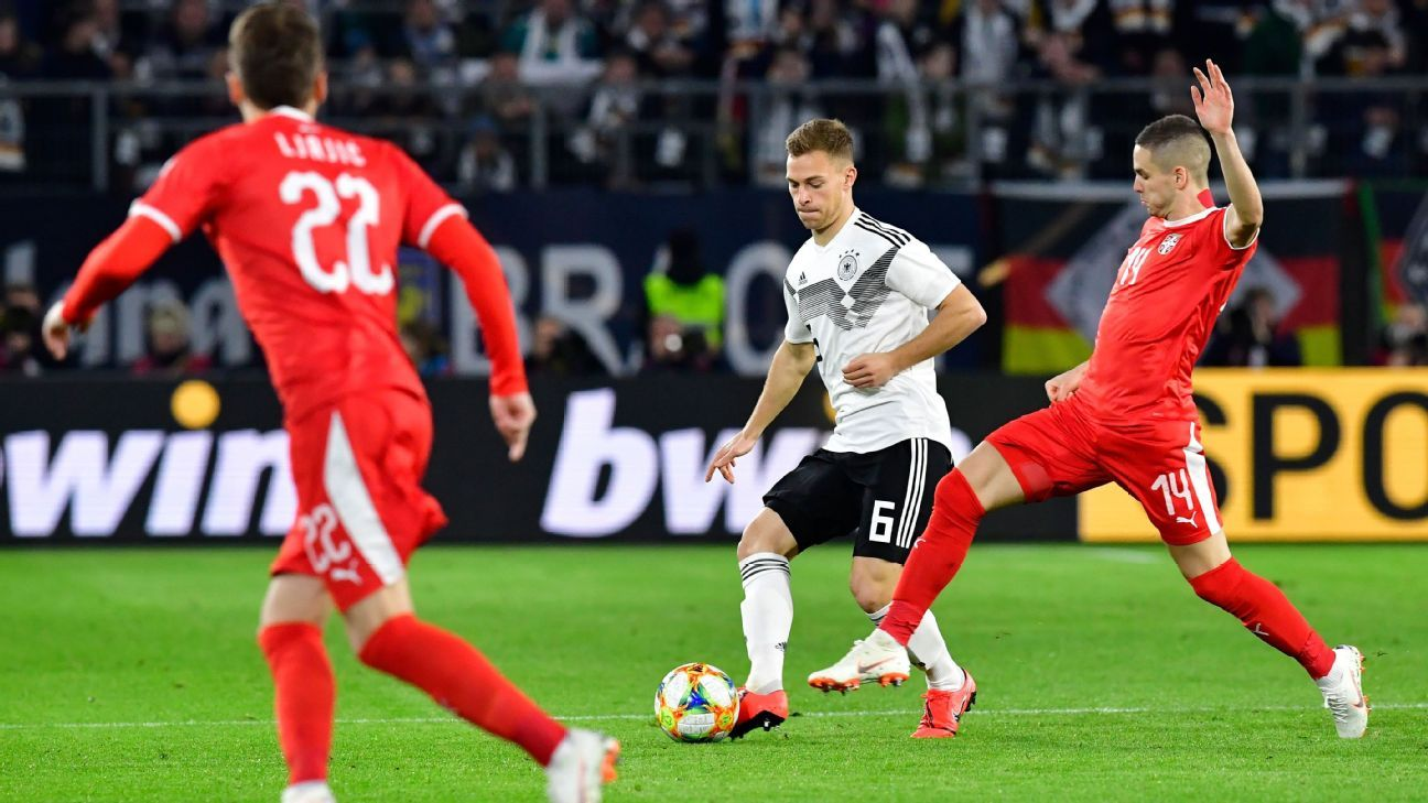 Alemania igualó en un amistoso con Serbia en casa