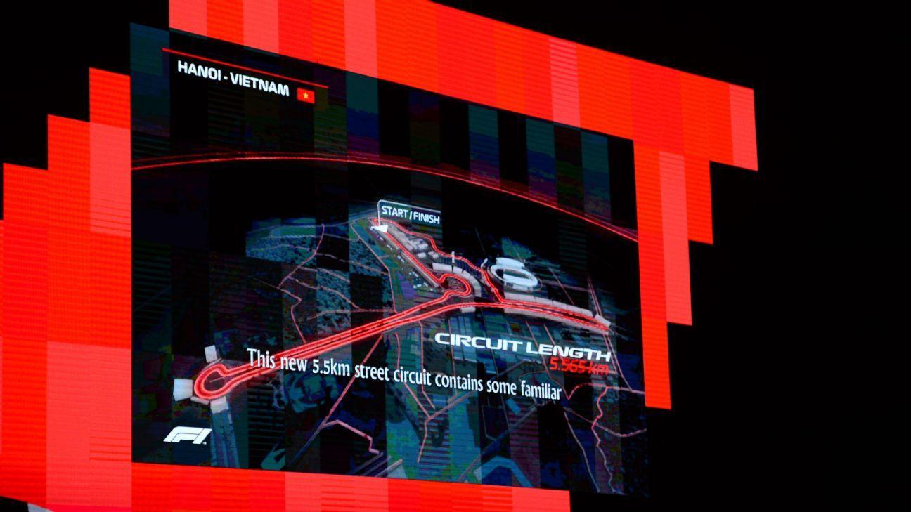 Hanoi comienza la construcción de su circuito de Fórmula 1
