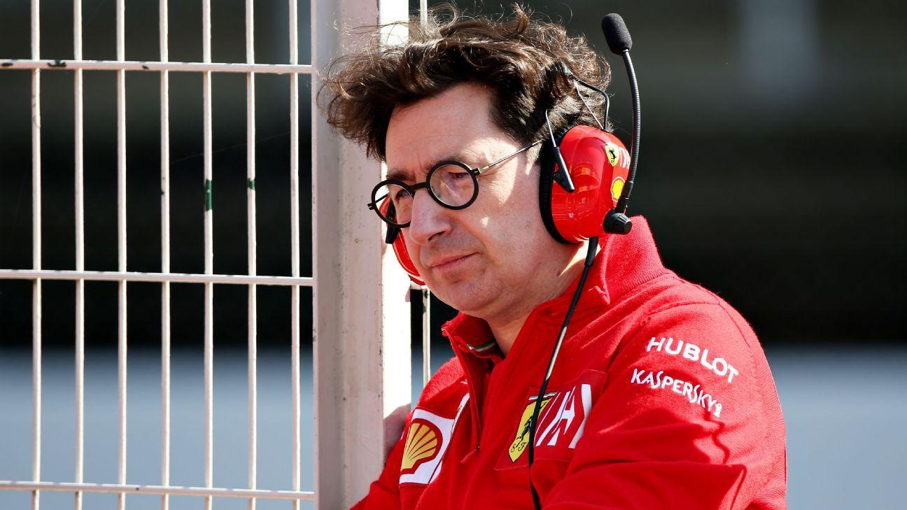 """Mattia Binotto sobre Ferrari: """"Ese no es el potencial del auto"""""""