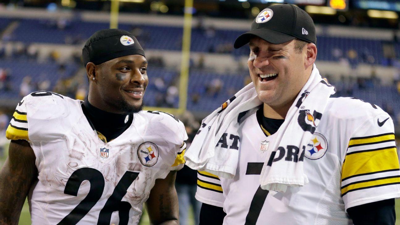Le'Veon Bell critica el liderazgo de Ben Roethlisberger en Pittsburgh