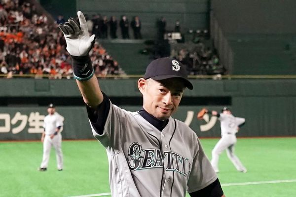 Ichiro in starting lineup in possible final game