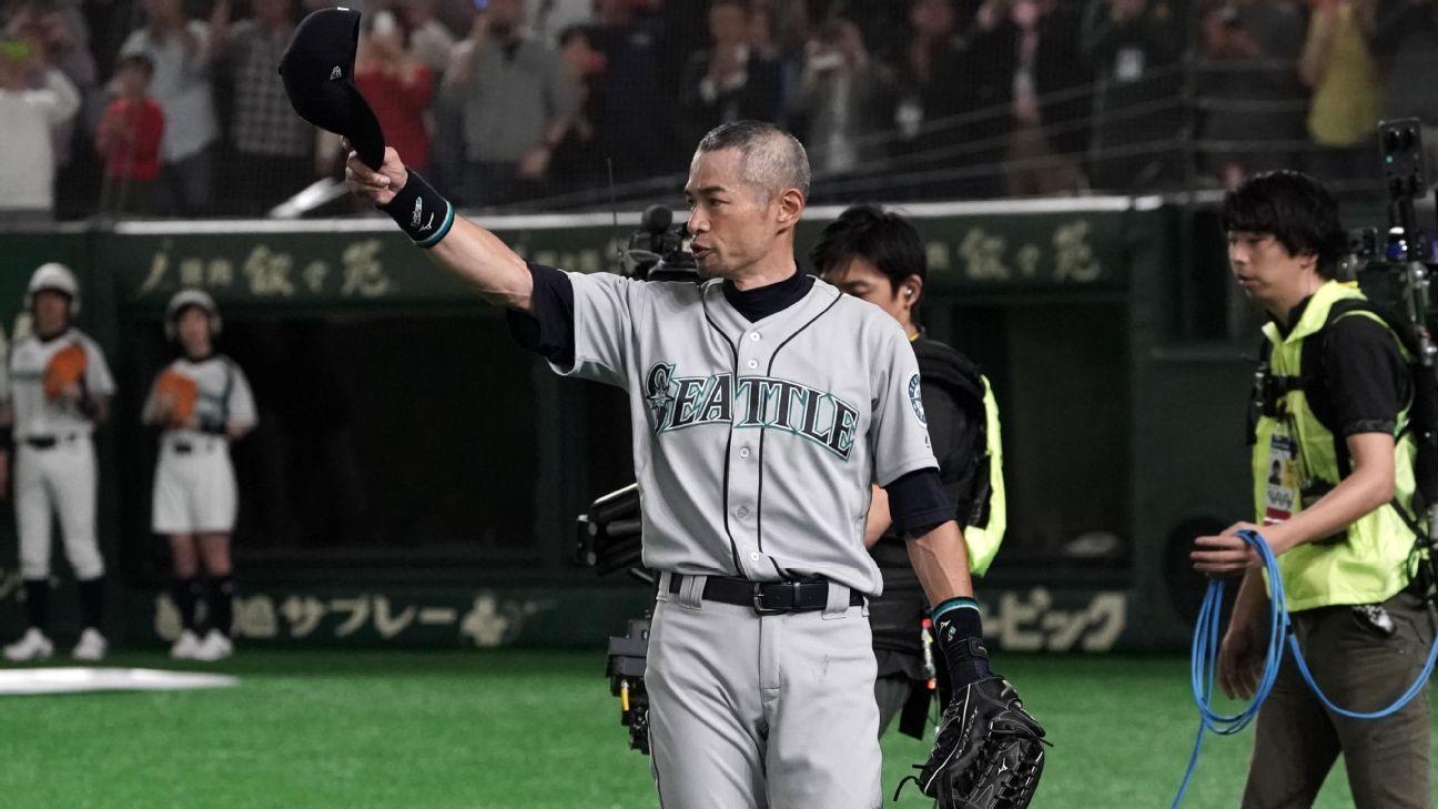 Ichiro anuncia su retiro del béisbol profesional