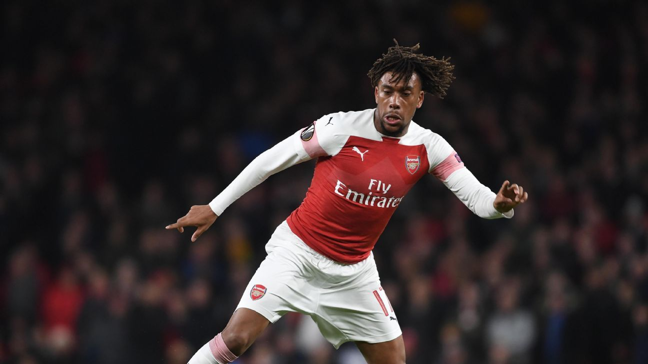 Alex Iwobi's movement and link play essential to Arsenal's rebuilding process