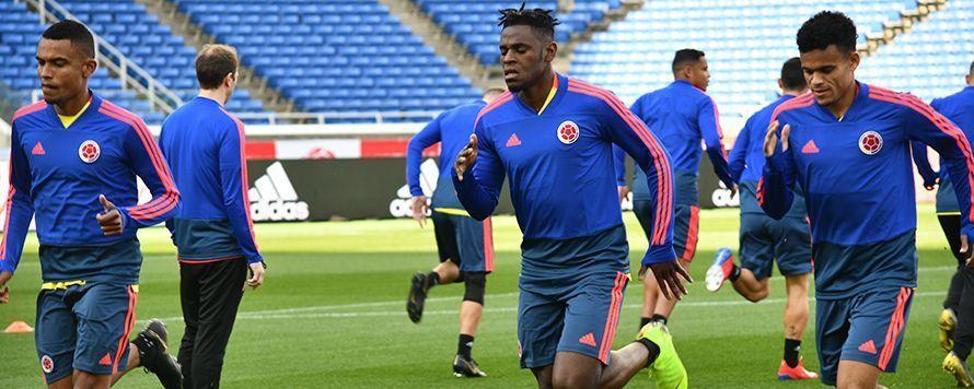 Colombia hizo el reconocimiento del Nissan Stadium