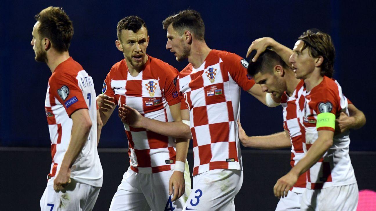 Kramaric nets late winner as Croatia beat Azerbaijan