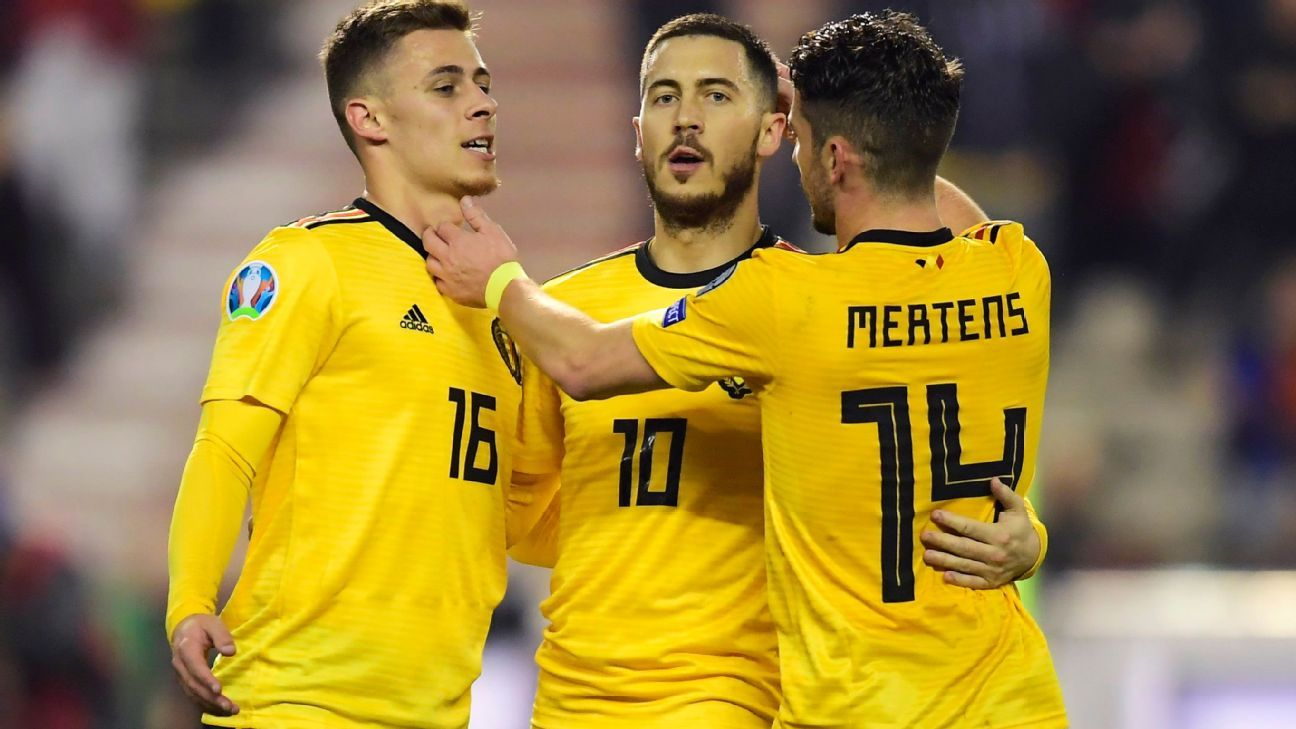 Bélgica inclina a Rusia, con doblete de Hazard