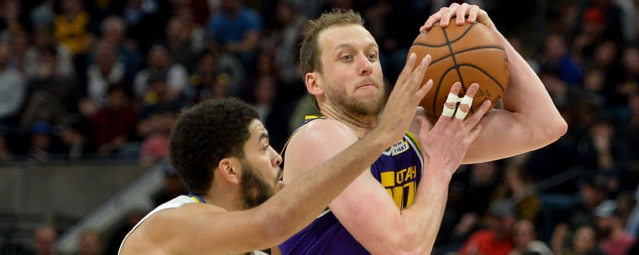 Joe Ingles is Utah Jazz' Iron Man