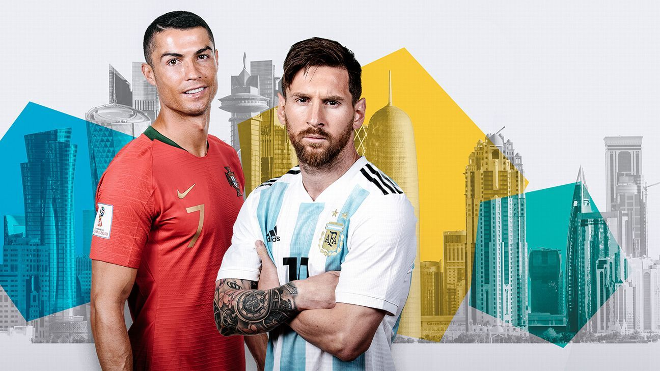 ¿Apostarías a ver a Messi y Ronaldo en el Mundial 2022?