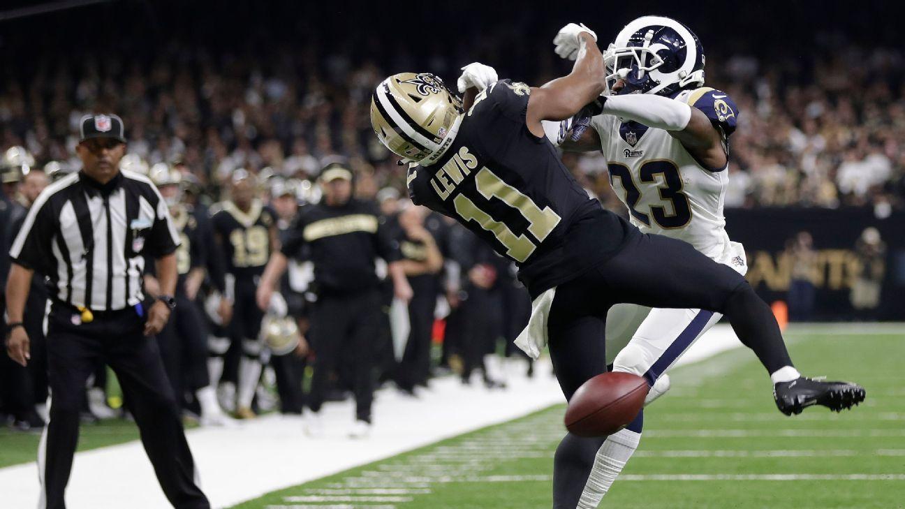 NFL aprova revisão de jogadas com interferência de passe para a temporada 2019