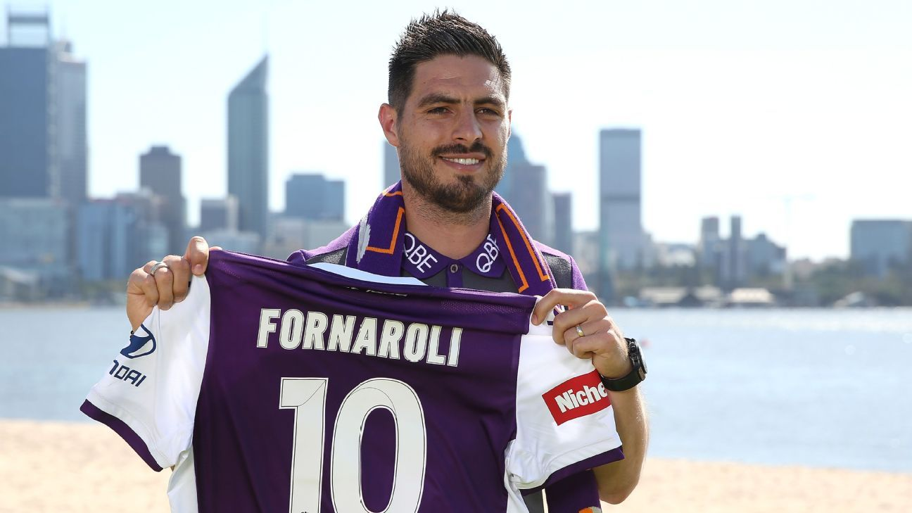 Bruno Fornaroli joins Tony Popovic's Perth Glory project