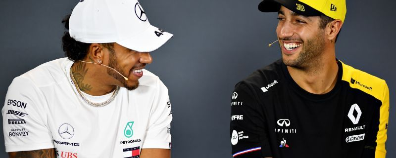 Lewis Hamilton gets in on Daniel Ricciardo/Avocado meme
