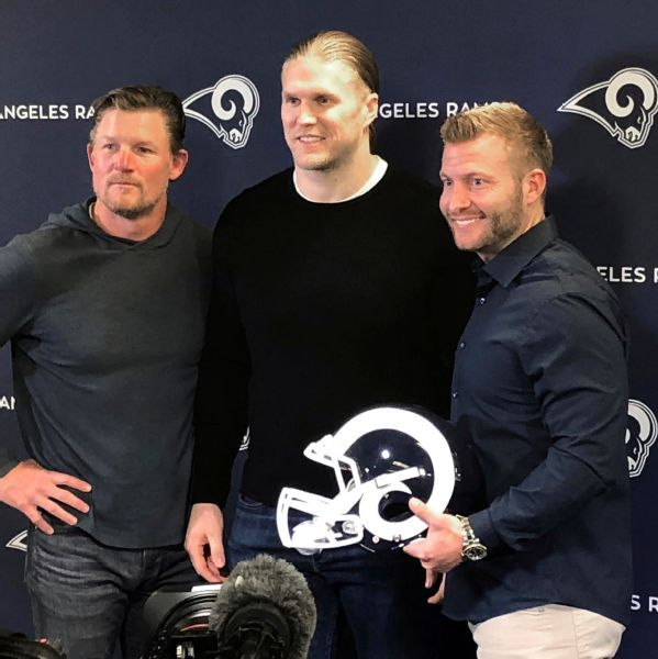 New Rams linebacker Clay Matthews had eyes on L.A. as he hit free agency