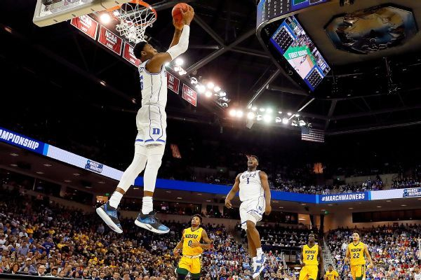 Zion sparks Duke to runaway win in tourney debut