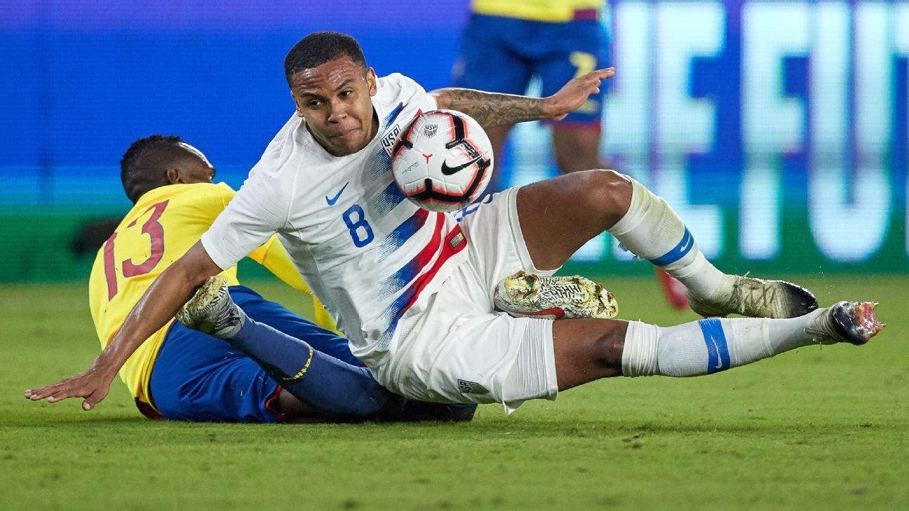 United States' McKennie expected to miss rest of Bundesliga season - source