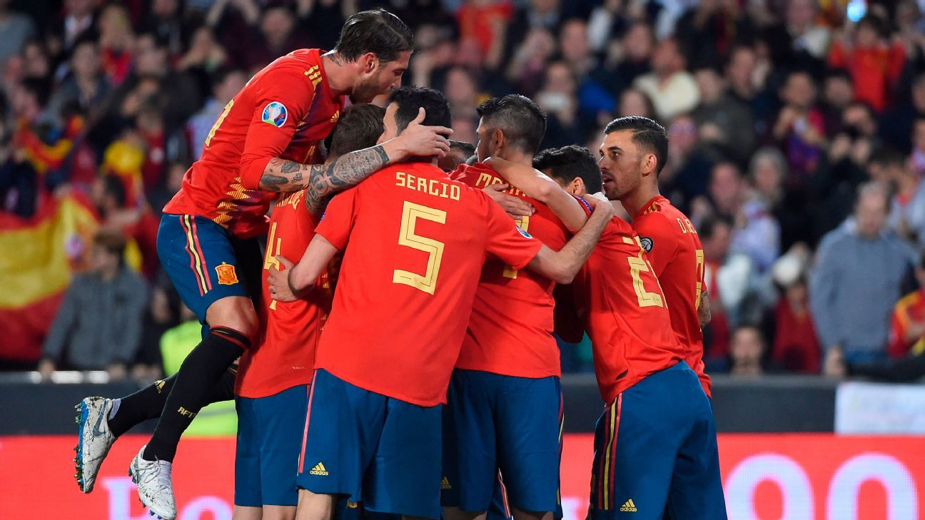 Sergio Ramos, Rodrigo Moreno score as Spain shake off Norway
