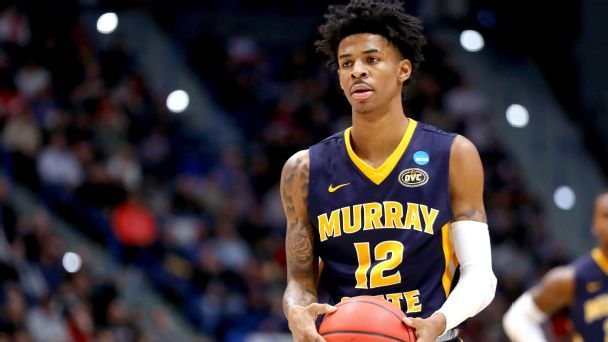 NBA draft stock watch: Ja Morant rising, top-100 movement